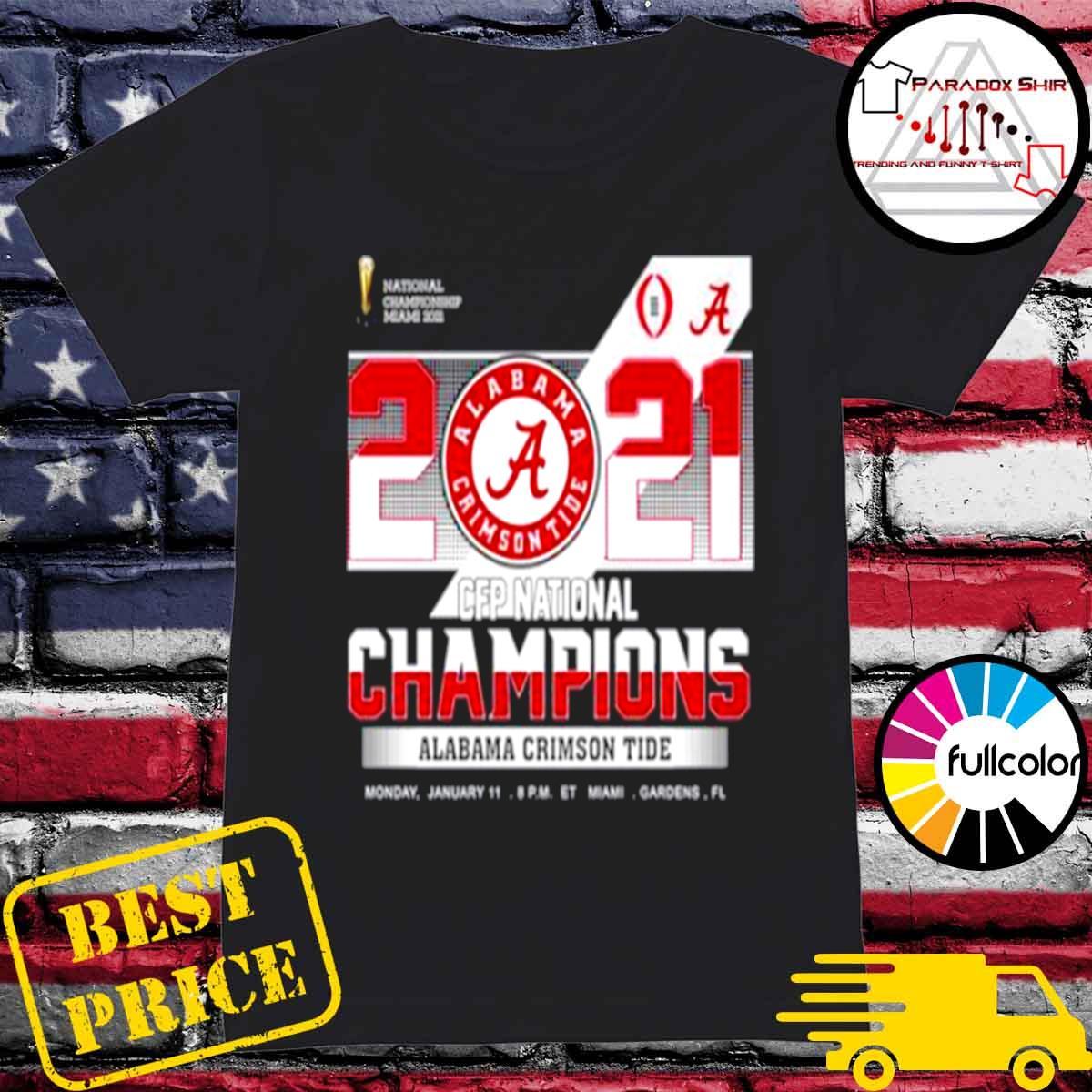 championship Miami 2021 CFP Alabama Crimson Tide 52 24 Ohio State s Ladies