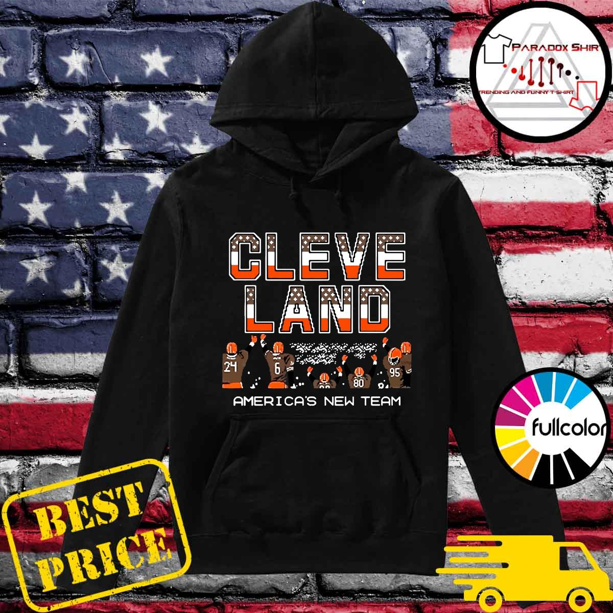 Cleveland Browns America's New Team Shirt Hoodie