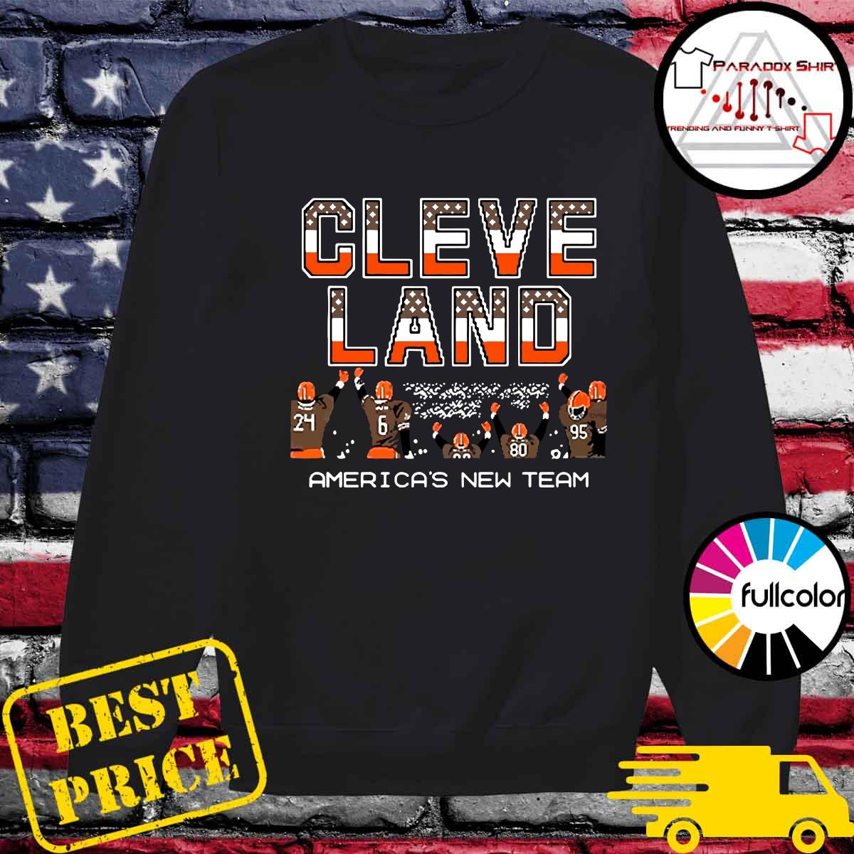 Cleveland Browns America's New Team Shirt Sweater