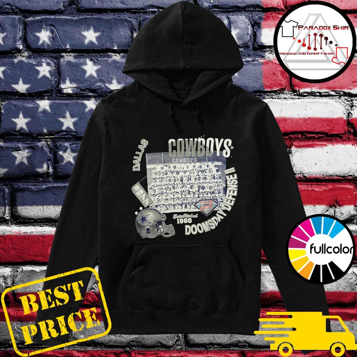 Dallas Cowboys Doomsday Defense II Established 1960 Shirt Hoodie