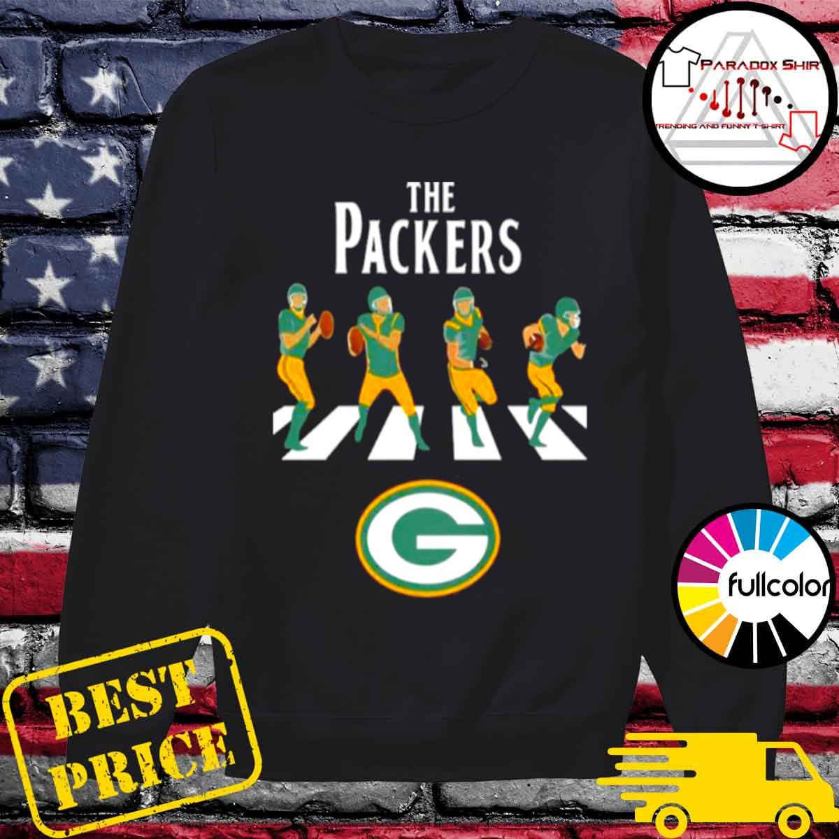 Green bay packers abbey road 2021 s Sweater