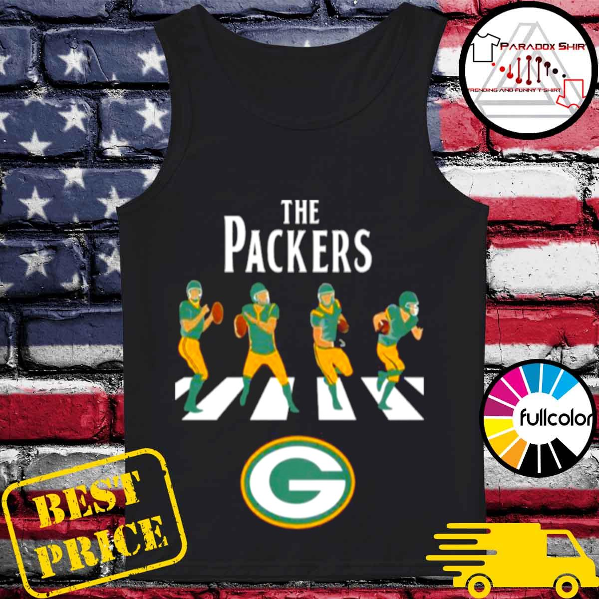 Green bay packers abbey road 2021 s Tank-top