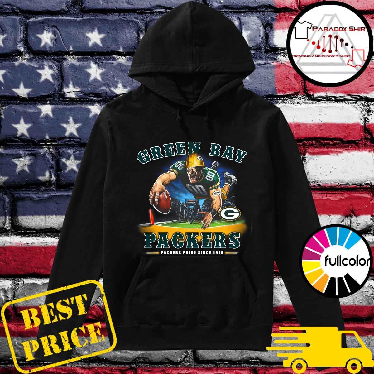 Green Bay Packers Packers Pride Since 1919 Shirt Hoodie