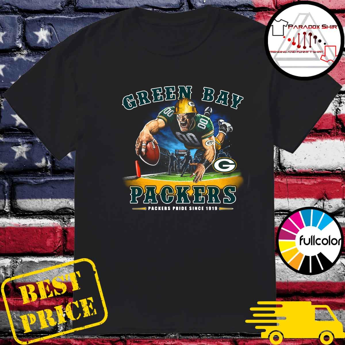 Green Bay Packers Packers Pride Since 1919 Shirt