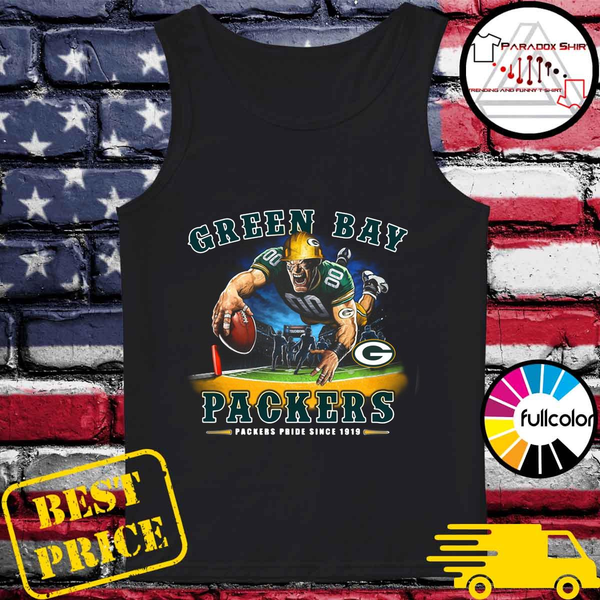 Green Bay Packers Packers Pride Since 1919 Shirt Tank-top