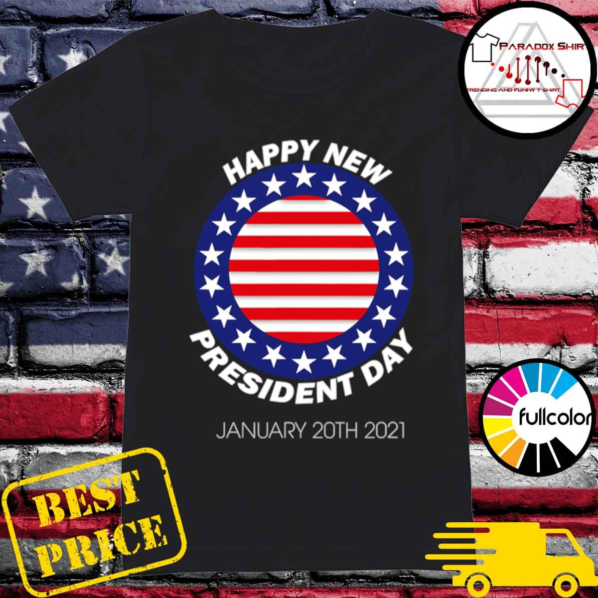Happy New President Inauguration Day American Flag s Ladies