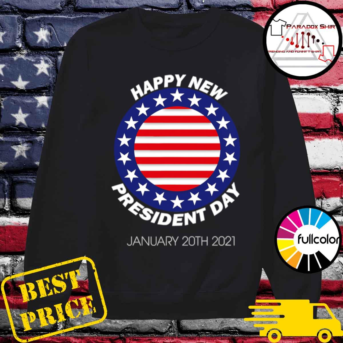 Happy New President Inauguration Day American Flag s Sweater
