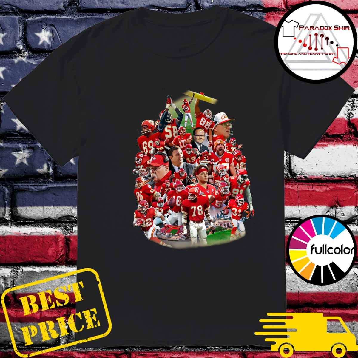 Kansas City Chiefs Football Team Shirt