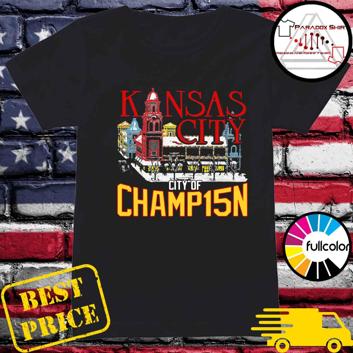 Kansas City City Of Champ15n Shirt Ladies