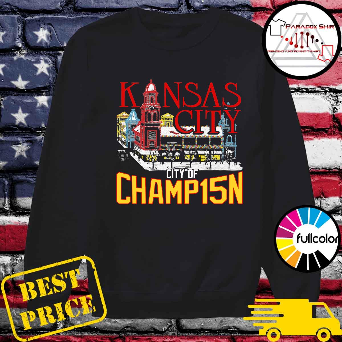 Kansas City City Of Champ15n Shirt Sweater