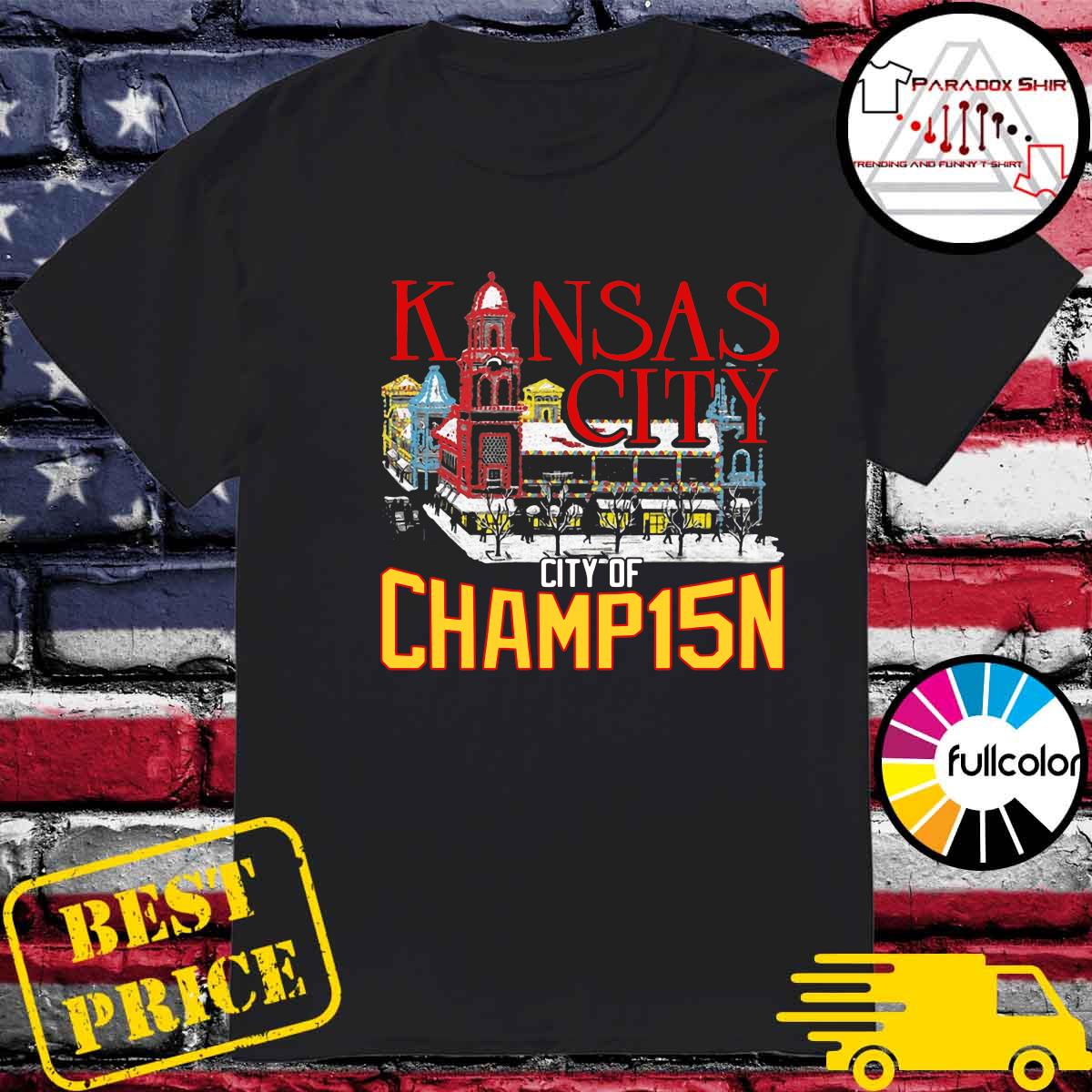Kansas City City Of Champ15n Shirt